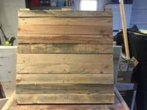 blank pallet wood